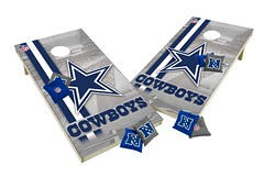 View ProductDallas Cowboys Custom Cornhole Boards XL