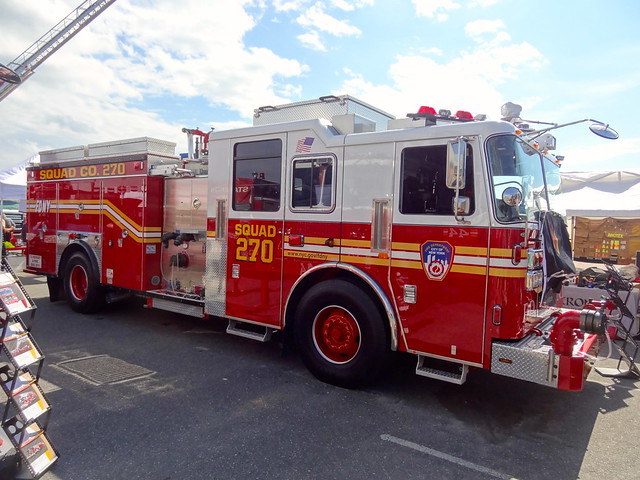 FDNY Squad 270   2013 Seagrave SP130003   Triborough   Flickr