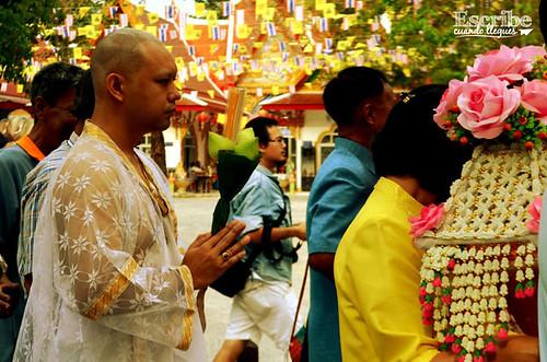 Ordenación monje budista8