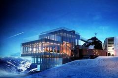 Nová designová restaurace na Gaislachkoglu v Söldenu