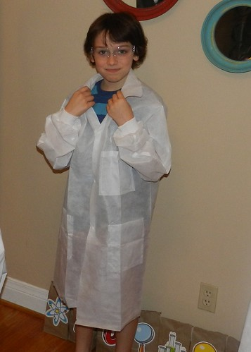 Nieem's Mad Scientist Birthday