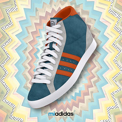 wanna win a pair of custom adidas made by yours truly? Join the #sneakerswitch