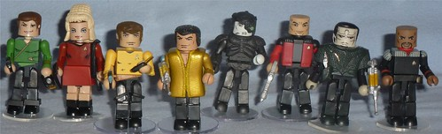 Art Asylum Minimates - Star Trek