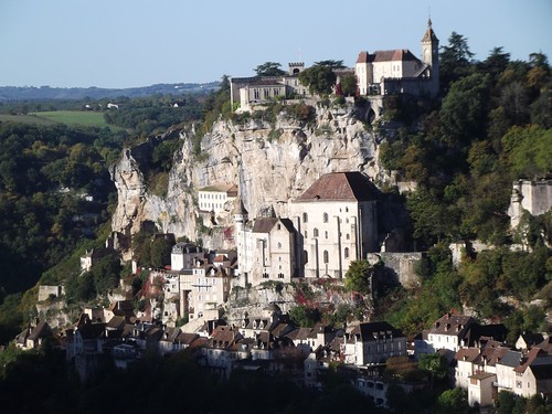 Rocamadour from Hospitalet by rajmarshall