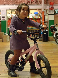 P2's Bad-Ass Pink BMX bike