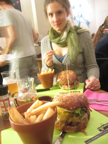 Burgers au Super Filles du Tram