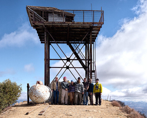 Cuyama Peak gang of seven, October 29, 2013.