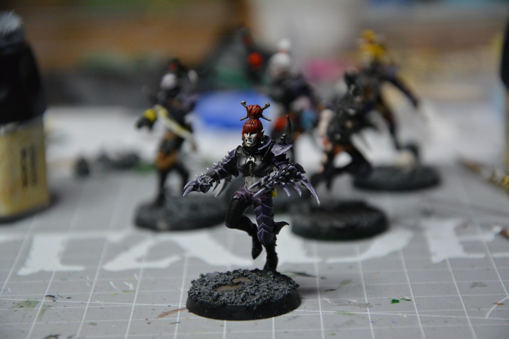 Cult of Bladed Violet & Kabal of Violet Storm - DE witches conversion! 10593578705_a8d46461f3_b
