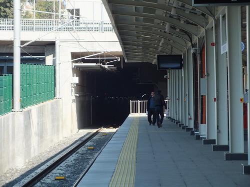 Az alagút, ami átvisz Európába, ami átmegy a tenger alatt.