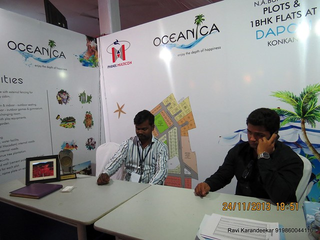 www.oceanica.in - Oceanica 1 / 2 / 3 BHK Bungalow Plots at Gave Taluka Dapoli District Ratnagiri Maharashtra India  - Pune Property Exhibition, Times Property Expo 'Investment Festival 2013', 23rd & 24th November 2013