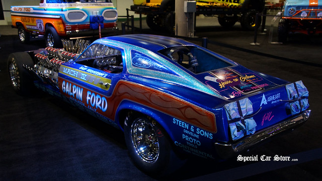 1969 4-engined Mustang Mach IV Dragster by Gary Weckesser