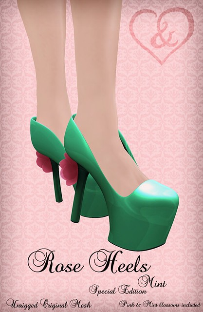 Rose Heels Mint