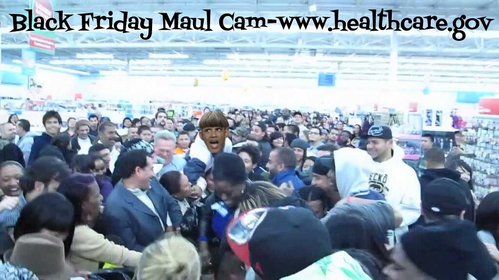 BLACK FRIDAY MALL CAM