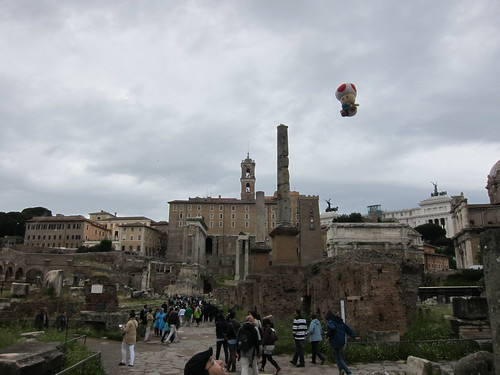 Floating Toad at the Roman Forum