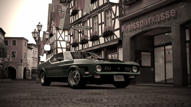 1971 Ford Mustang Mach 1 11211887215_f9a9308dc1_z