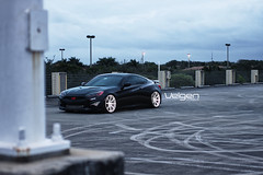 Hyundai Genesis Coupe on Velgen Wheels VMB8 Matte SIlver