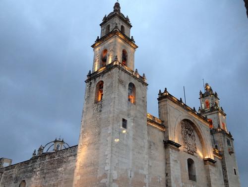 Merida Catedral de San Ildefonso 1598