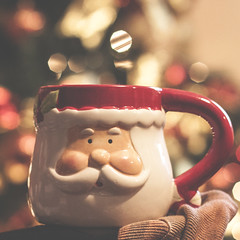 I love Coffee and Christmas