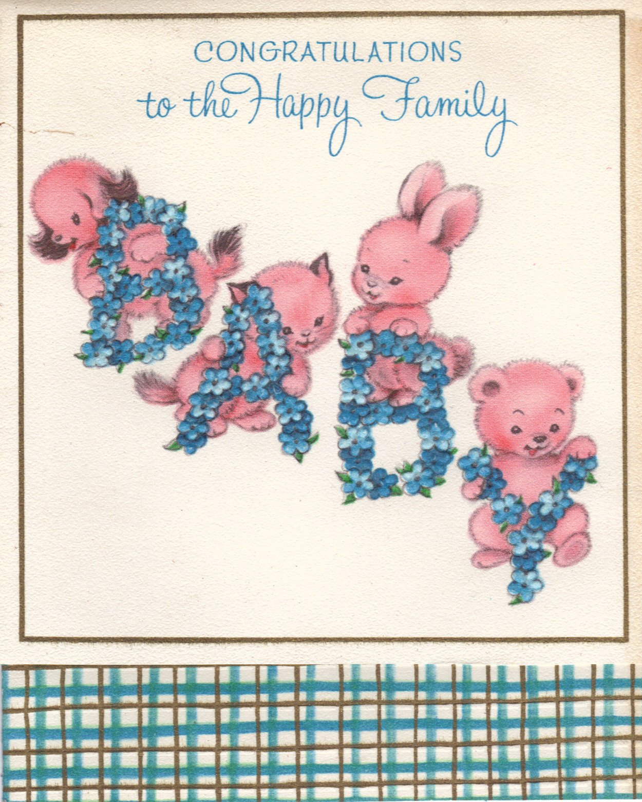 felicitation, old fashion,  vintage baby,  baby shower card, baby shower postcard, baby shower, vintage postcards, greeting card, vintage greeting card,  card,