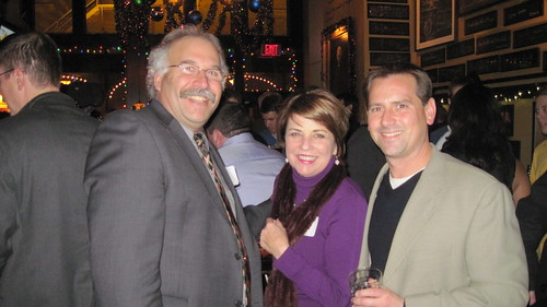 Mark Kass, Kathy Mykleby & Vince Vitrano at our annual Meet the Media event on Dec. 5, 2013.
