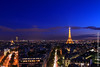 Paris at Nightfall