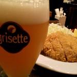 ベルギービール大好き!! グリセット・ブロンド Grisette Blonde
