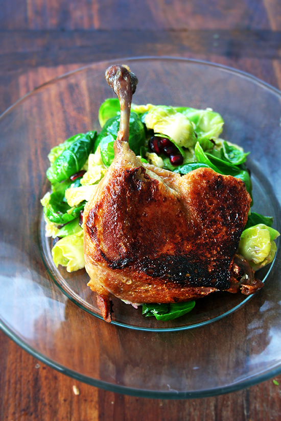 cheaters duck confit
