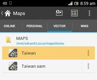 Locus Vector Maps