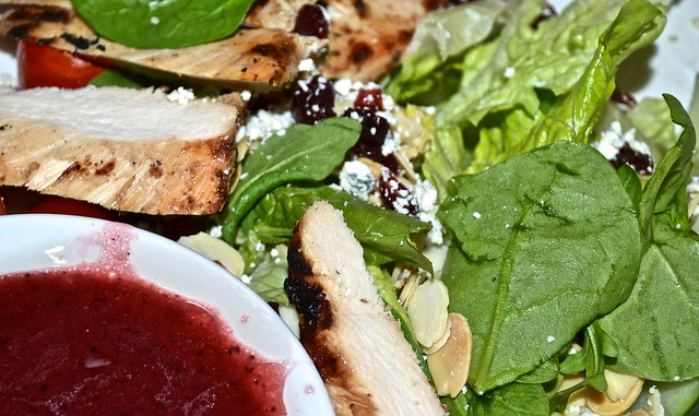 TooJays Gourmet Deli, Florida - cranberry and almond chicken salad
