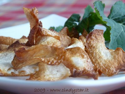 chips di cavolo navone