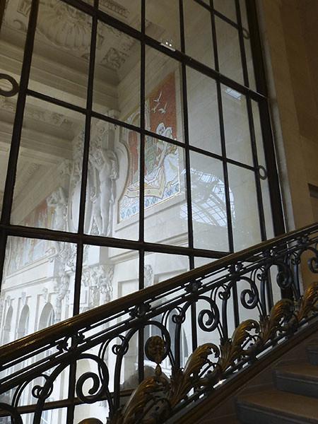escalier du grnad palais