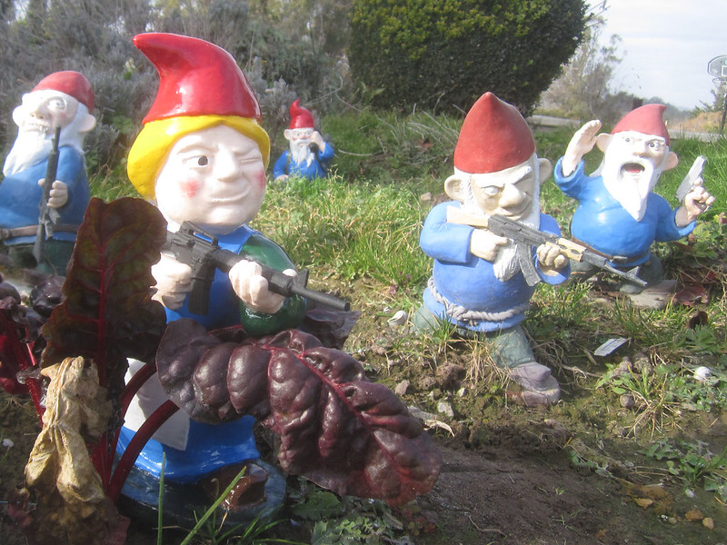 Gnome Infantry Advancing