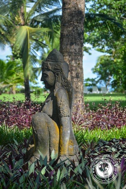 Blue Osa Grounds Buddha