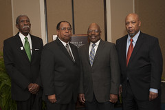 Auburn University integration firsts Harold Franklin, Willie Wyatt Jr., Samuel Pettijohn and Anthony Lee.