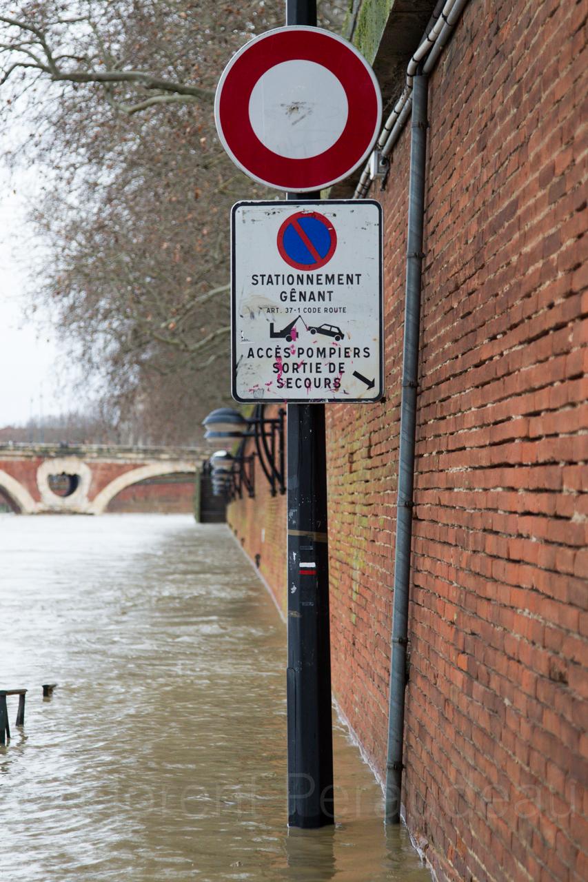 la Garonne en crue, 25 et 26 janvier 2014, Toulouse 12137124673_013c672343_o