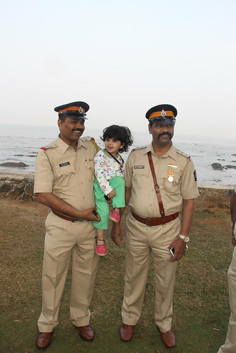 Mumbai Police Jai Ho.. Nerjis 2 Year old Street Photographer by firoze shakir photographerno1