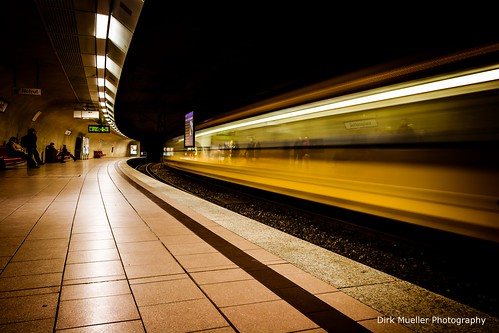 Stuttgart Underground Transportation by Dirk Mueller Photography