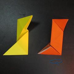 สอนวิธีพับกระดาษเป็นดาวกระจายนินจา (Shuriken Origami) - 007