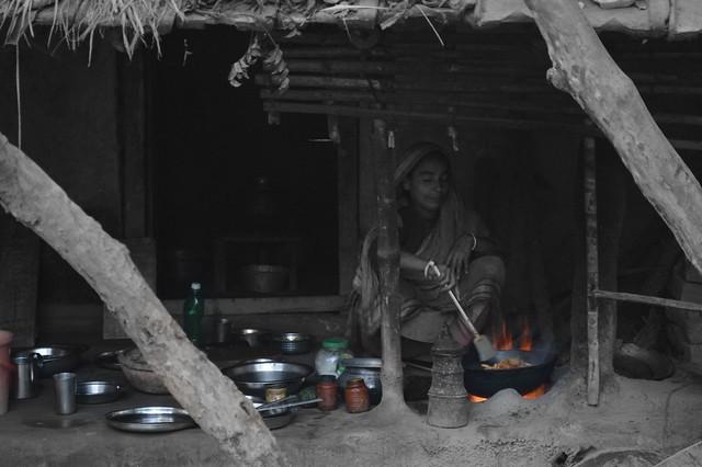 Housewife of Rural Bangladesh