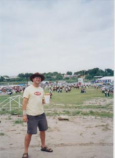 Eagle Pass, fair grounds on the Rio Grande