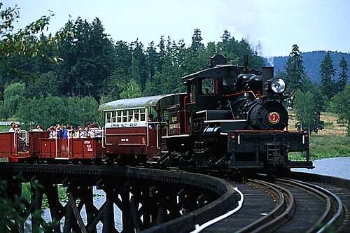 BC Forestry Museum, Duncan, Cowichan Valley, Vancouver Island, British Columbia, Canada