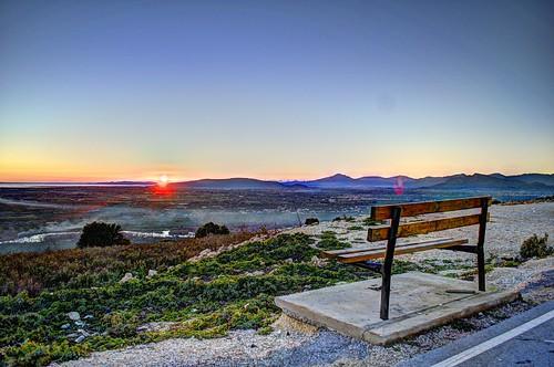 sunset bench arta kostas petalas