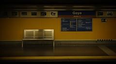 Estación de metro Goya / Goya metrostation