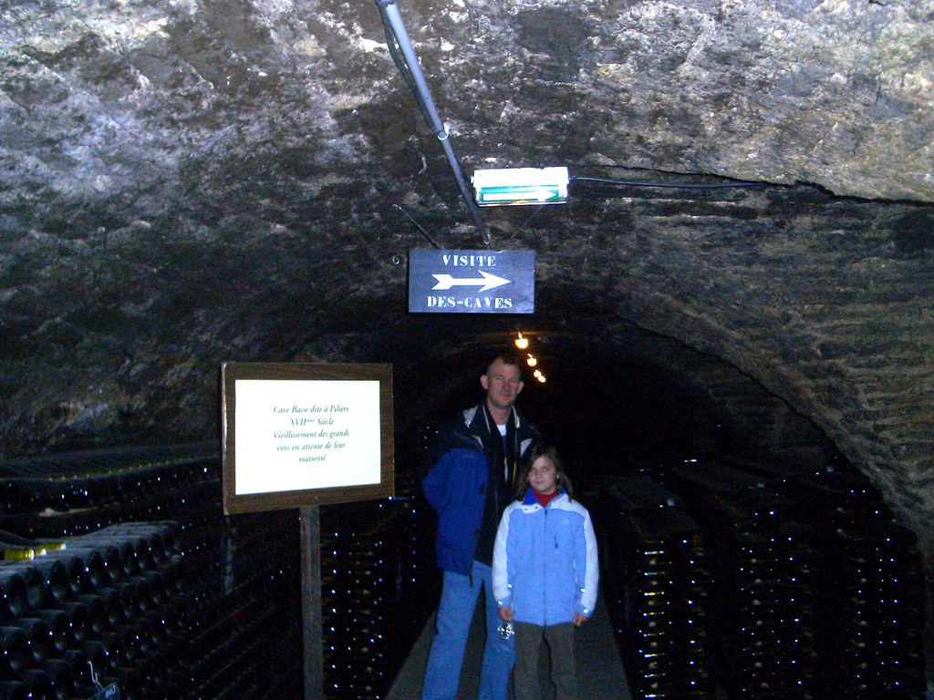 Beaune in the caves