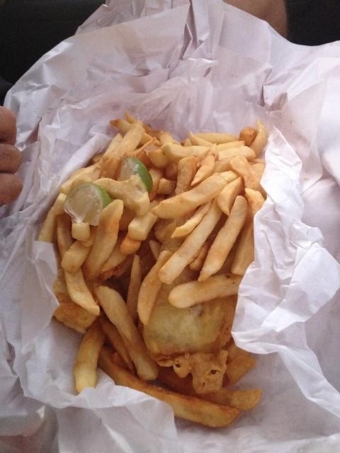 Celebratory Fish & Chips
