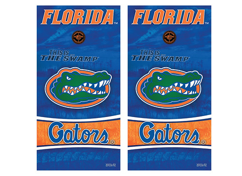 Florida Cornhole Game Decal Set