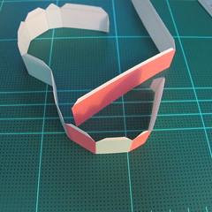 วิธีทำโมเดลกระดาษเป็นกล่องของขวัญรูปหัวใจ (Heart Box Papercraft Model) 006