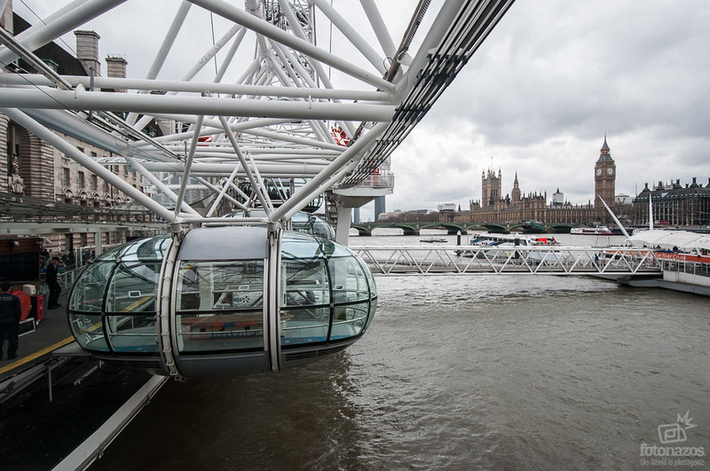Subir al London Eye, las mejores vistas de Londres