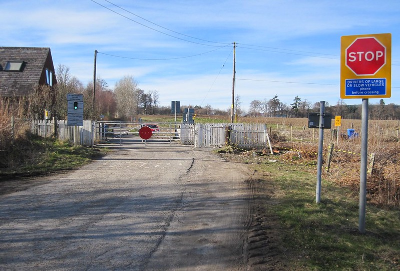Foulis Level Crossing