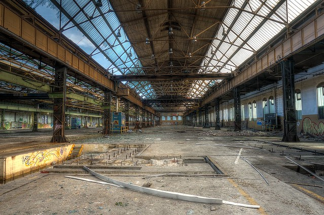 Abandoned Railroad Engineering Works (4)